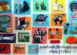 Triển lãm đồ họa Dấu ấn 40 năm