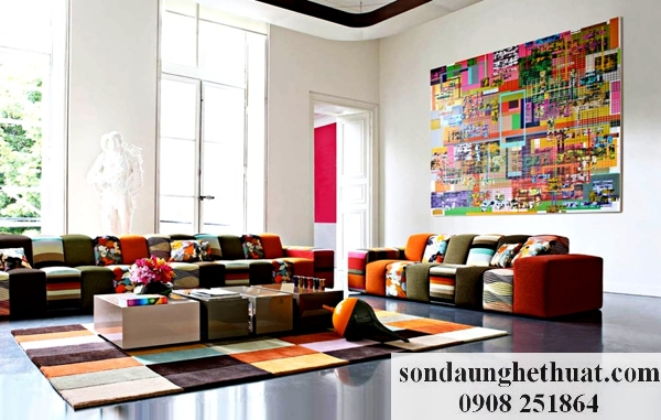 comfortable-colorful-living-room
