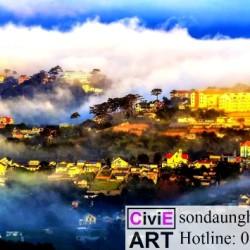 Đà Lạt - Thành phố của tranh nghệ thuật