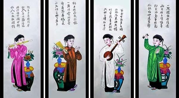 4 dòng tranh dân gian Việt Nam đậm đà bản sắc dân tộc