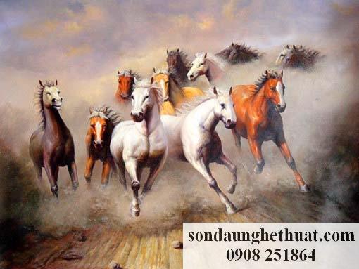Tranh Mã Đáo Thành Công và ý nghĩa của số ngựa